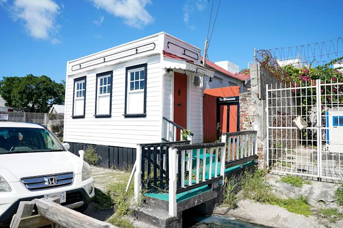 This barracoon in St. John's held enslaved Africans before they were marched a few blocks away to be sold to plantation owners. It's one of several structures related to slavery still standing in the city.