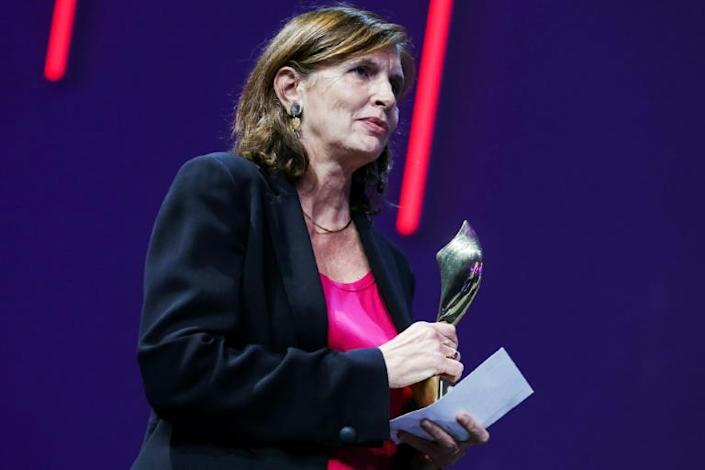 Leridon was the first woman appointed as global news director of Agence France-Presse