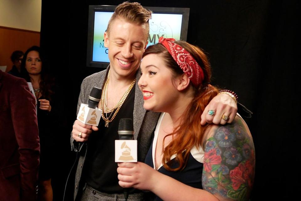 Macklemore and Mary Lambert | Francis Specker/CBS