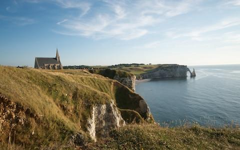 <span>Normandy is altogether a gentler place than neighbouring Brittany, dotted as it is with lush meadows and bucolic farmland</span> <span>Credit: Jelle De Laender </span>