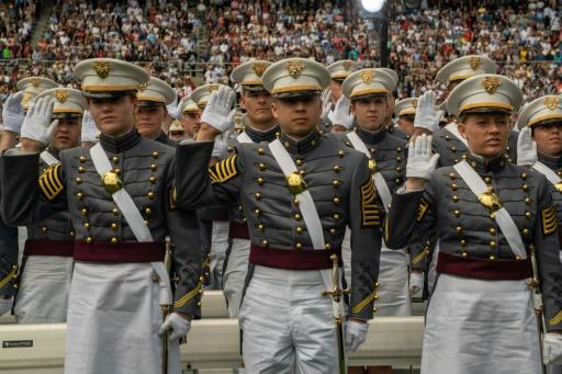 Graduation Day at the US Military Academy at West Point in 2019