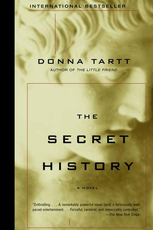 """<p><strong><em>The Secret History</em> by Donna Tartt </strong></p><p>$13.88 <a class=""""link rapid-noclick-resp"""" href=""""https://www.amazon.com/Secret-History-Donna-Tartt/dp/1400031702/?tag=syn-yahoo-20&ascsubtag=%5Bartid%7C10050.g.35990784%5Bsrc%7Cyahoo-us"""" rel=""""nofollow noopener"""" target=""""_blank"""" data-ylk=""""slk:BUY NOW"""">BUY NOW</a> </p><p>Donna Tartt's first novel, <em>The Secret Histor</em>y, was an instant best-seller. A group of misfits at college, with the influence from their professor, develop a new way of living and thinking. When they go beyond their moral standards, they find themselves with a murder on their hands. <br></p>"""