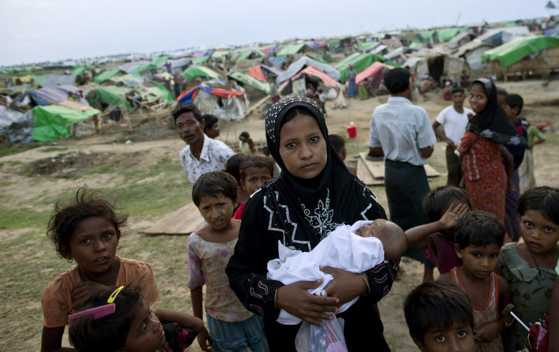 Suu Kyi opposes 2-child limit for Myanmar minority