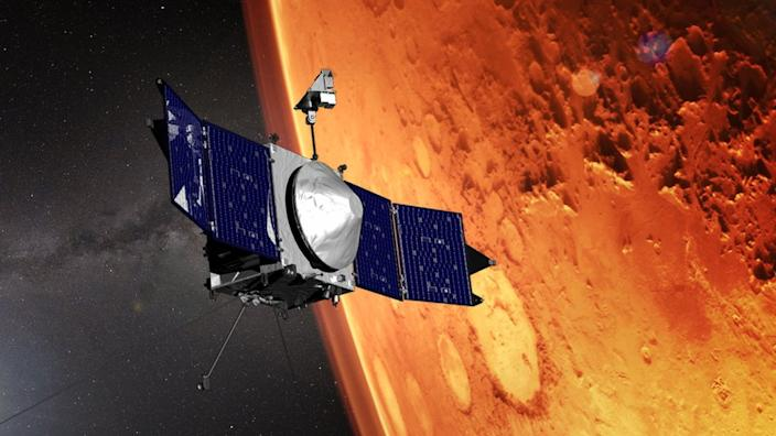 The US Maven mission has operated well past the duration of its prime mission
