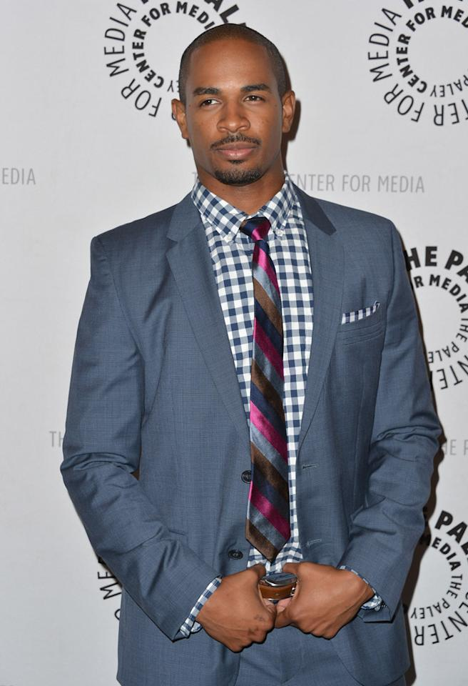 "BEVERLY HILLS, CA - OCTOBER 16:  Actor Damon Wayans Jr. arrives to The Paley Center For Media's An Evening With ""Happy Endings"" and ""Don't Trust the B---- In Apartment 23""  at The Paley Center for Media on October 16, 2012 in Beverly Hills, California.  (Photo by Alberto E. Rodriguez/Getty Images)"