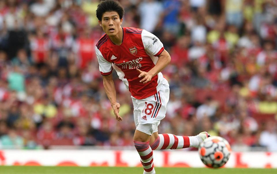 Arsenal have assembled their tallest defence in 30 years - but will it make any difference? - GETTY IMAGES