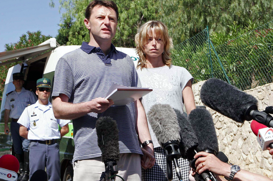 <em>Maddie's parents have never given up hope of finding their daughter (Getty)</em>