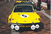 <p>Straight outta Stuttgart and into a 24-hour race weekend at Daytona in 1971, this 914/6 went from delivery to a first-in-class finish in just a few days. This car in particular is one of only 16 the Porsche Racing Department built for customers in 1970. Making 210 horsepower, this was the most powerful version of the 914/6 GT. After several different owners and paint jobs, it's been restored back to its Daytona-winning look.</p>