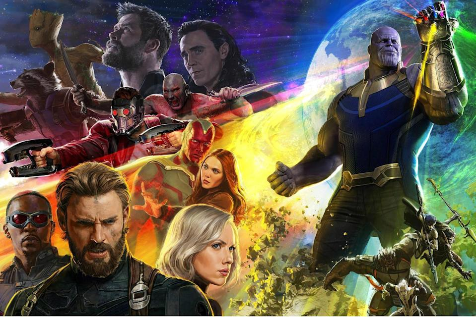 Avengers: Infinity War will have the longest run-time of any Marvel Cinematic Universe movie