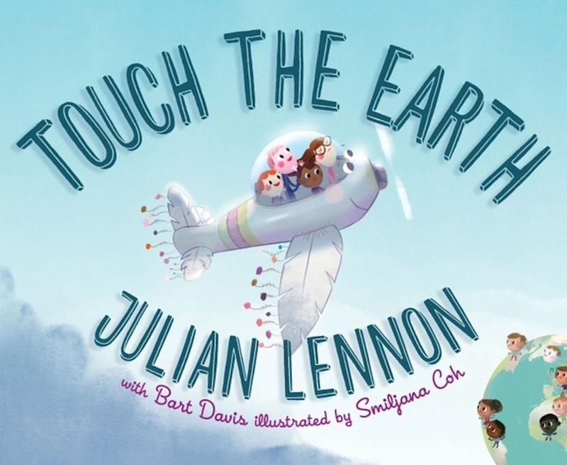 """Touch The Earth"" is the first in a series of three environmental-themed children's books from John Lennon's son Julian. <i>(Available <a href=""https://www.amazon.com/Touch-Julian-Lennon-Feather-Adventure/dp/1510720839/"" target=""_blank"" rel=""noopener noreferrer"">here</a>)</i>"