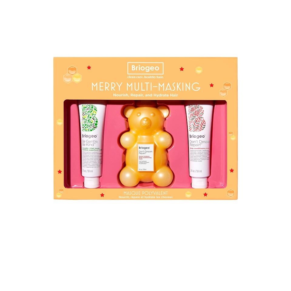 """ICYMI, haircare sets are the new candles. (A.k.a what to gift even the pickiest person on your list.) $36, Briogeo. <a href=""""https://shop-links.co/1718759331834333264"""" rel=""""nofollow noopener"""" target=""""_blank"""" data-ylk=""""slk:Get it now!"""" class=""""link rapid-noclick-resp"""">Get it now!</a>"""