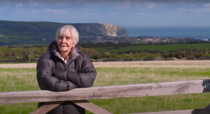 Sheila Hancock revisits the beautiful Dancing Ledge rock pools - and some childhood memories. (Multistory Media/ITV)