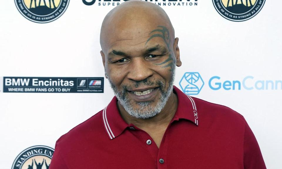 Mike Tyson pictured in 2019.