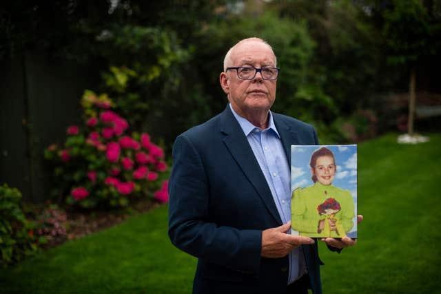 Michael O'Hare, who has vowed to fight for justice for his sister Majella O'Hare who was shot dead by the Army in Co Armagh (Victoria Jones/PA)