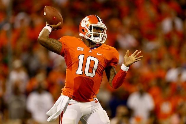 Tajh Boyd's five TDs lead Clemson past Georgia 38-35