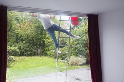 21% of people say they've spent more time on ladders during the pandemic.