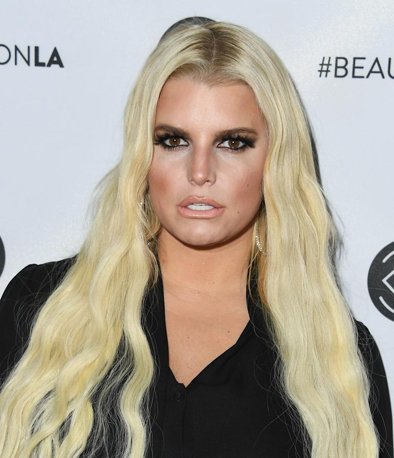 LOS ANGELES, CA - JULY 14: Jessica Simpson attends Beautycon Festival LA 2018 at Los Angeles Convention Center on July 14, 2018 in Los Angeles, California. (Photo by Jon Kopaloff/FilmMagic)