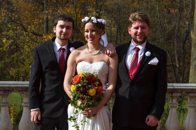 <i>Fromleft to right:</i>Shawn,Hope and Paul. (Courtesy of Hope Evans)
