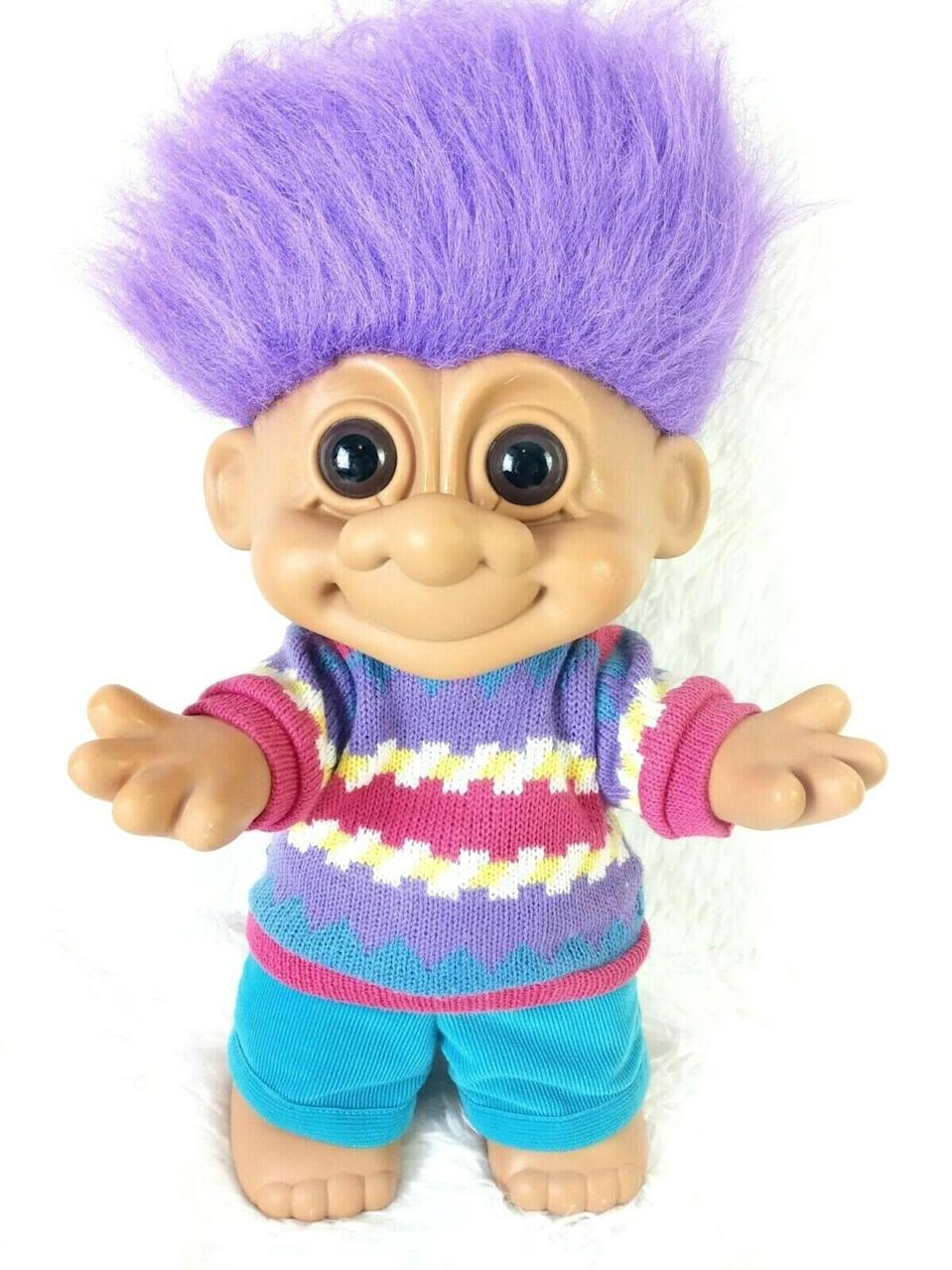 <p><span>'90s The Russ Troll Collection Extra Large Troll Doll</span> ($175)</p>