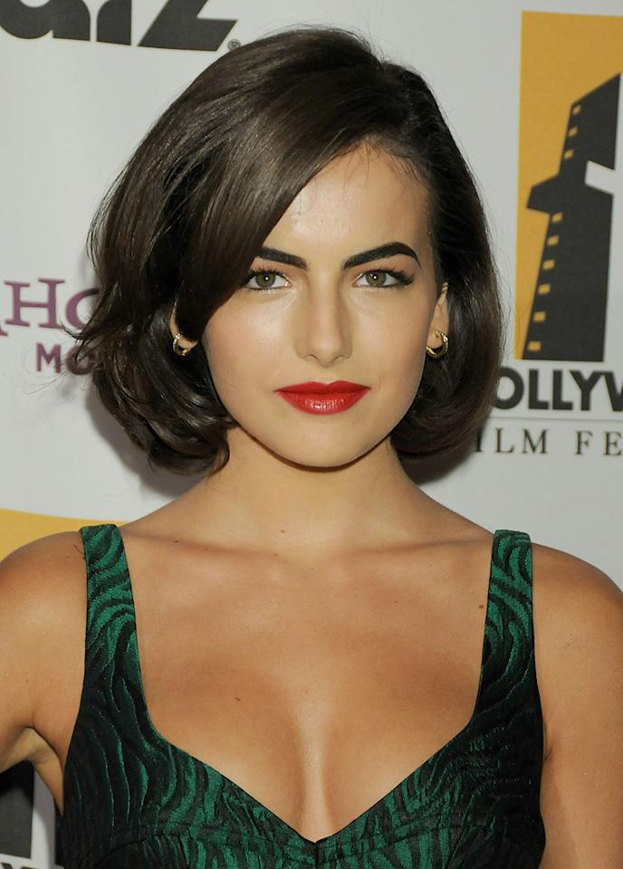 """<a href=""""http://movies.yahoo.com/movie/contributor/1800024058"""">Camilla Belle</a> at the 12th Annual Hollywood Film Festival Awards Gala in Beverly Hills - 10/27/2008"""