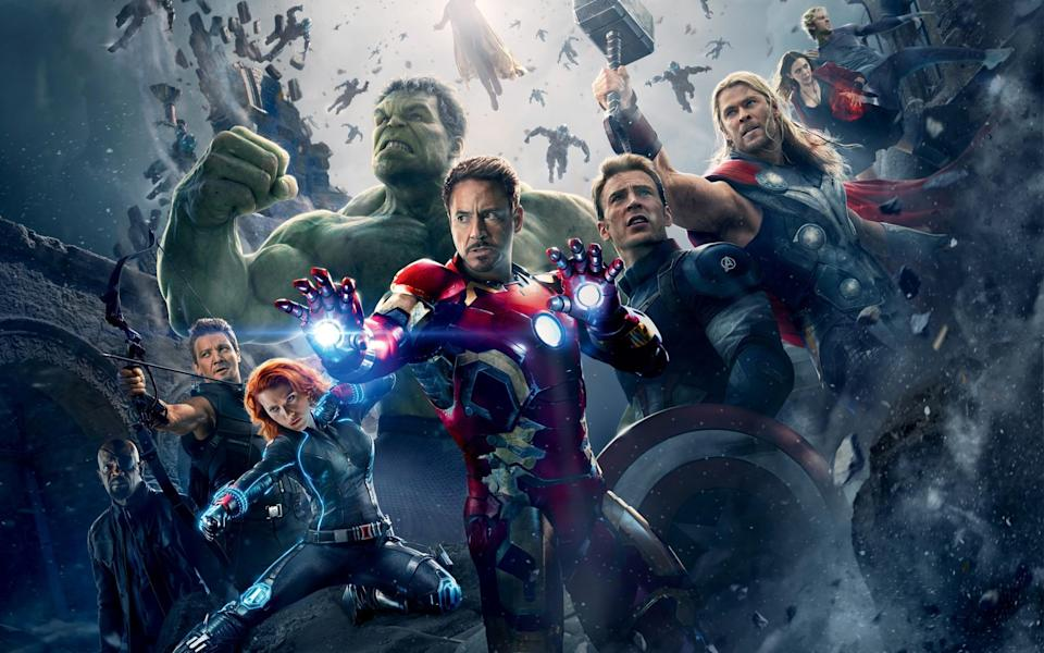 Marvel's Avengers: Age Of Ultron poster (credit: Marvel Studios)
