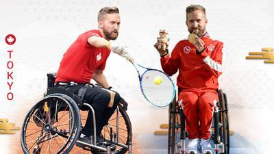 Rob Shaw will represent Canada in wheelchair tennis at the Tokyo 2020 Paralympic Games this summer.  PHOTO: Canadian Paralympic Committee (CNW Group/Canadian Paralympic Committee (Sponsorships))
