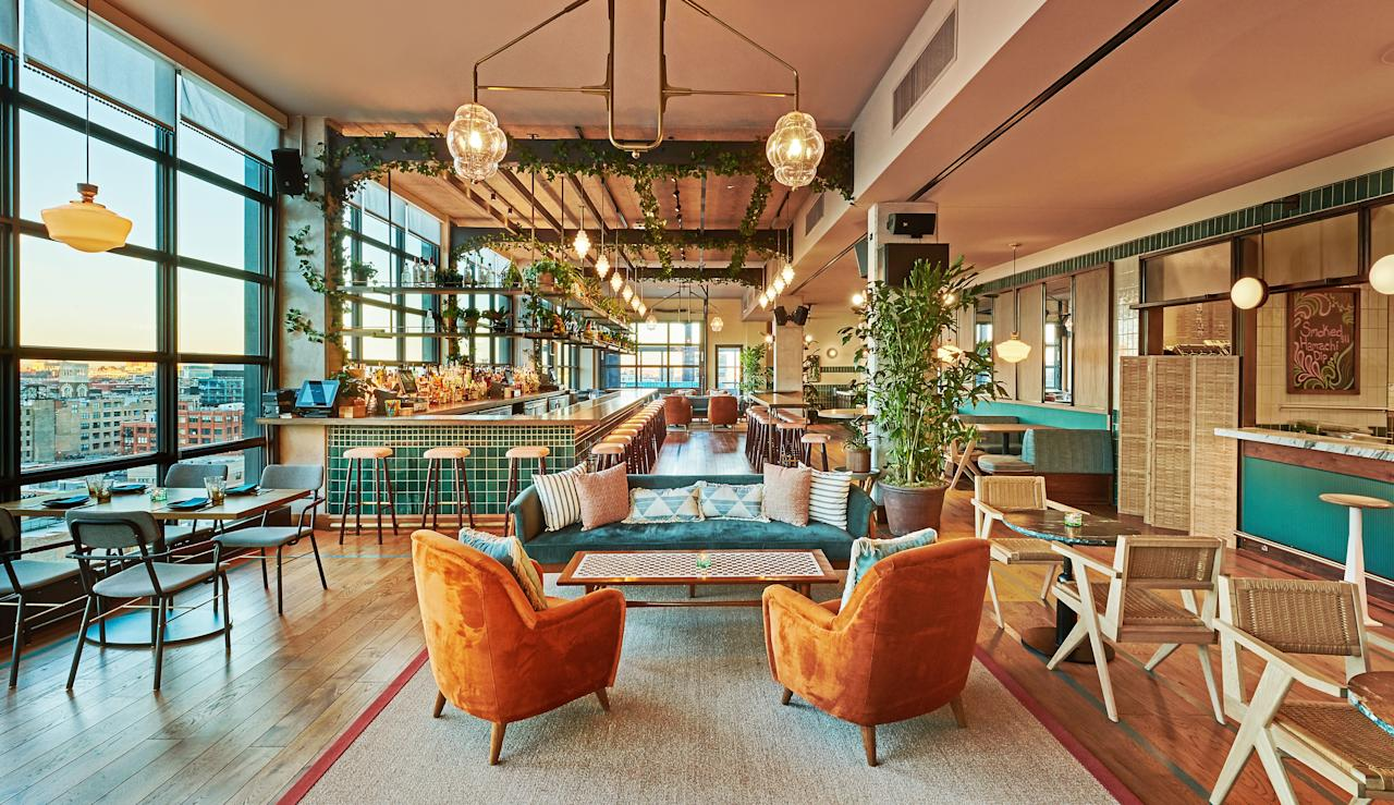 """<p><strong>First impression?</strong><br> Feel instantly transported to South America at Cabra, a West Loop newcomer on the 12th floor of the highly anticipated <a href=""""https://www.cntraveler.com/hotels/chicago/the-hoxton-chicago?mbid=synd_yahoo_rss"""">Hoxton Chicago</a>. Vibrant and colorful textures fill the bright, airy space, which offers a lively dining experience every day of the week.</p> <p><strong>So who's there?</strong><br> Friends and families at brunch and in the early evening, followed by dates as the night wears on.</p> <p><strong>How are the drinks?</strong><br> Lee Zaremba's cocktail list honors South American culture through three categories of classic Peruvian cocktails: Chilcanos, Sours, and Tonics. Stephanie Izard's husband, Gary Valentine, steers a beer list of predominantly Midwestern options, and sommelier Cassie Sakai curates a wine program that focuses on South American varietals, including about a dozen by-the-glass options.</p> <p><strong>Worth ordering something to eat, too?</strong><br> You can take the girl out of <a href=""""https://www.cntraveler.com/restaurants/chicago/girl-and-the-goat?mbid=synd_yahoo_rss"""">Girl and the Goat</a>, but you can't take the goat out of Stephanie Izard's culinary vision. Such is the case with Cabra (which means """"goat"""" in Spanish), Izard's newest restaurant, which honors her travels throughout Lima and throughout Peru. Sample bright, shareable plates that capture the flavors of these regions, from chicken thigh anticucho (with peanut chimichurri and yuzu cilantro) to pork shank (with pickles, plums, and sweet potato flatbread). The menu here emphasizes seasonal ceviches and tiraditos, too, which guests can watch being made to order at the six-seat ceviche bar.</p> <p><strong>Did the staff do you right?</strong><br> This is part of Boka Restaurant Group; translation: above-par service from start to finish.</p> <p><strong>Wrap it up: what are we coming here for?</strong><br> Bring a date for a lively night on th"""
