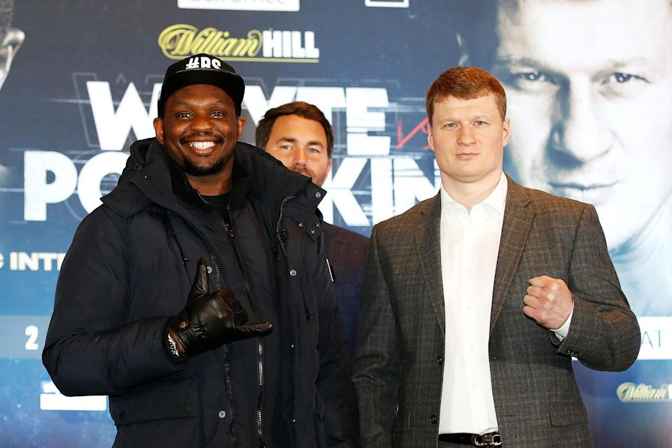 Whyte will meet Povetkin in Manchester on 2 May: PA