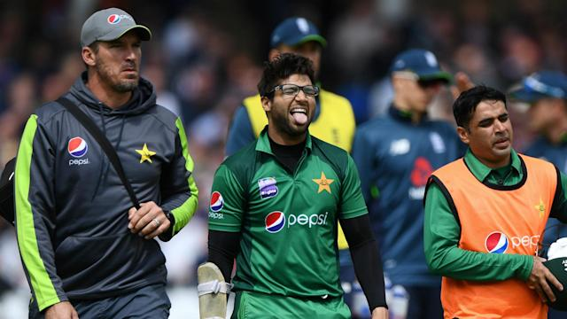 Pakistan were fearful after Imam-ul-Haq hurt his elbow playing against England, but an X-ray showed no serious damage.