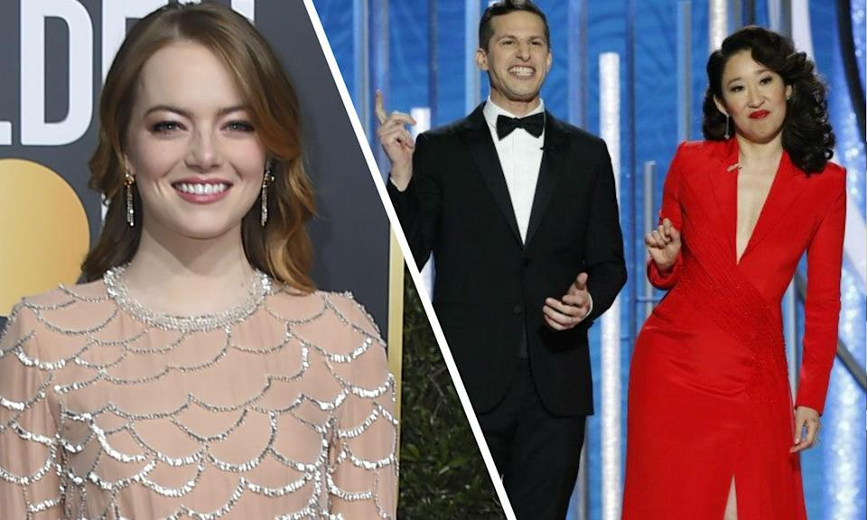 Emma Stone apologises for white-washed role at the Golden Globes