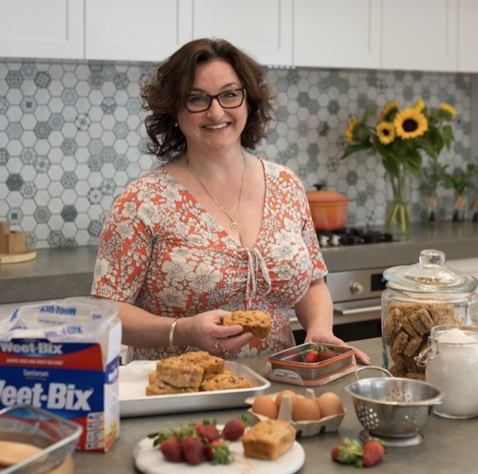Julie Goodwin has shared her tips for cooking for friends and family. Source: Instagram/@_juliegoodwin