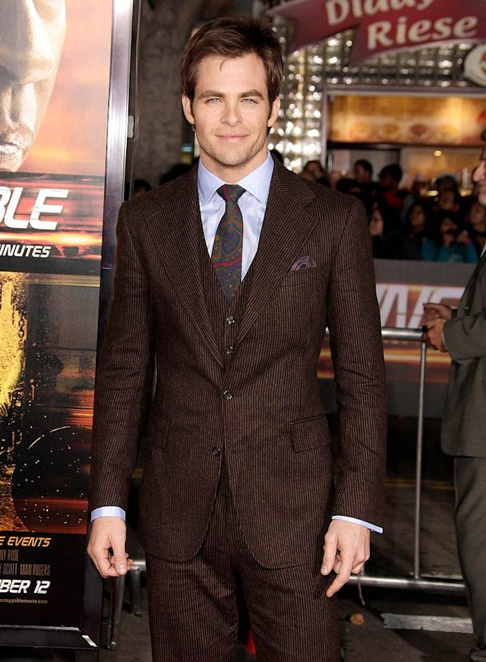 "Chris Pine (""Star Trek"") turns 31. Todd Williamson/<a href=""http://www.wireimage.com"" target=""new"">WireImage.com</a> - October 26, 2010"