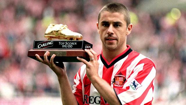 <p>Sunderland legend Kevin Phillips remains the only Englishman ever to win the European Golden Shoe, a feat achieved with 30 goals in the 1999-2000 Premier League season.</p> <br><p>After breaking the Black Cats' post-war goalscoring record, Phillips had spells with Southampton, Aston Villa, Birmingham City and Crystal Palace on his way to 92 Premier League goals.</p> <br><p>Later on in his career, Phillips was just as prolific in the Championship, netting 68 times in four seasons with West Brom, Birmingham, Blackpool and Palace. </p>
