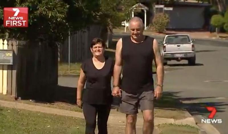 Janice didn't go walking again for a year - but when she did, she got an unexpected surprise. Source: 7 News
