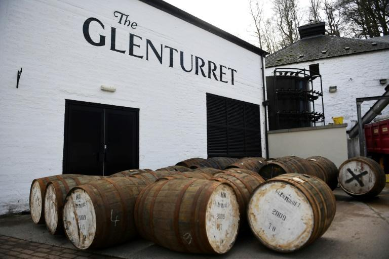 """""""It has been a really tough period for us with Covid, US tariffs and Brexit as well,"""" the distillery's managing director, John Laurie, told AFP"""