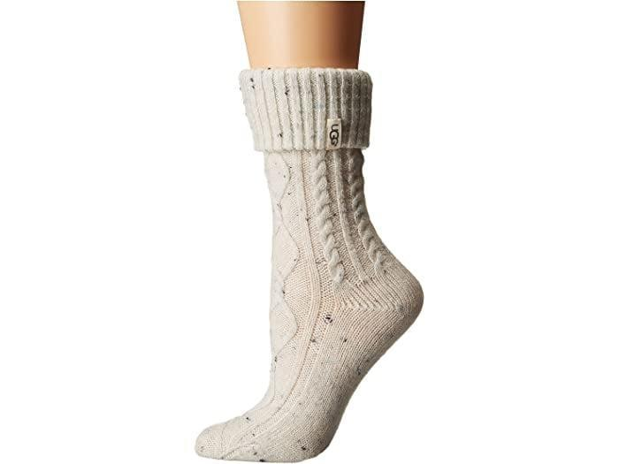 <p>These <span>UGG Sienna Short Rainboot Socks</span> ($30) will nicely complement your boots.</p>