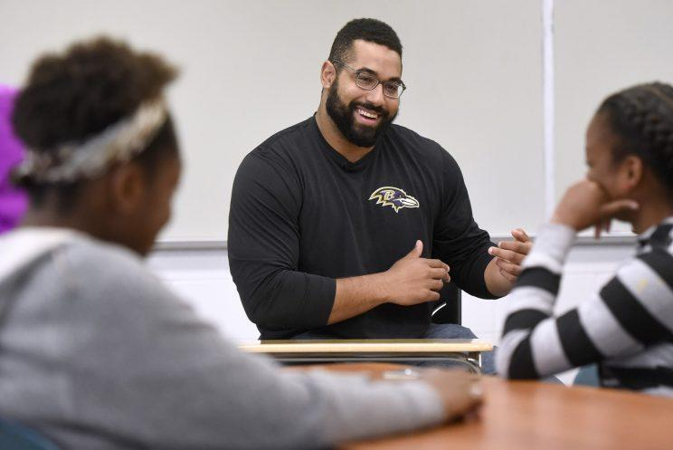 Ravens Center John Urschel To Retire From NFL