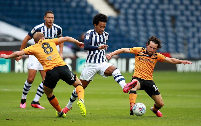 Matheus Pereira had a hand in three of West Brom's four goals - Getty Images