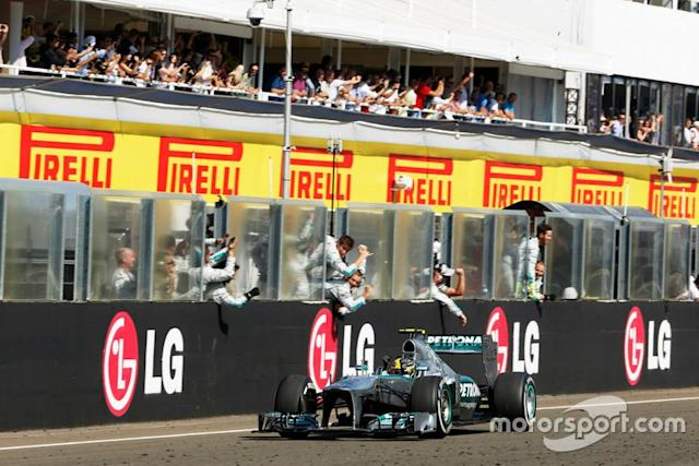 """2013: Mercedes F1 W04 <span class=""""copyright"""">Charles Coates / Motorsport Images</span>"""
