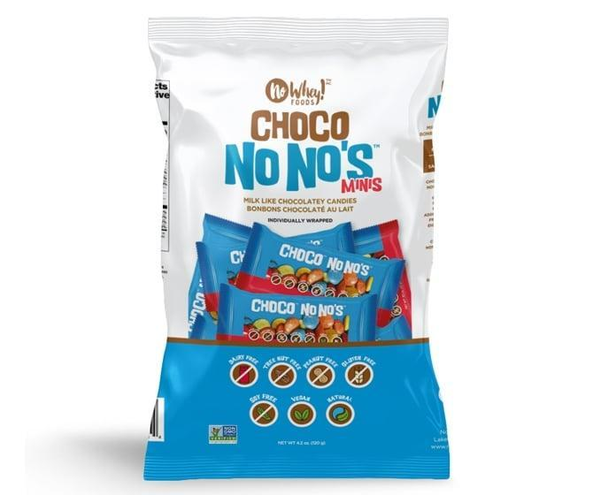 <p>If you are in need of an allergy-friendly treat, <span>No Whey! Choco No No's</span> ($9) are free of dairy, nuts, egg, soy, wheat, and gluten. Don't worry, though - fans say these candy-coated, chocolate-covered candies taste just like the real thing!</p>