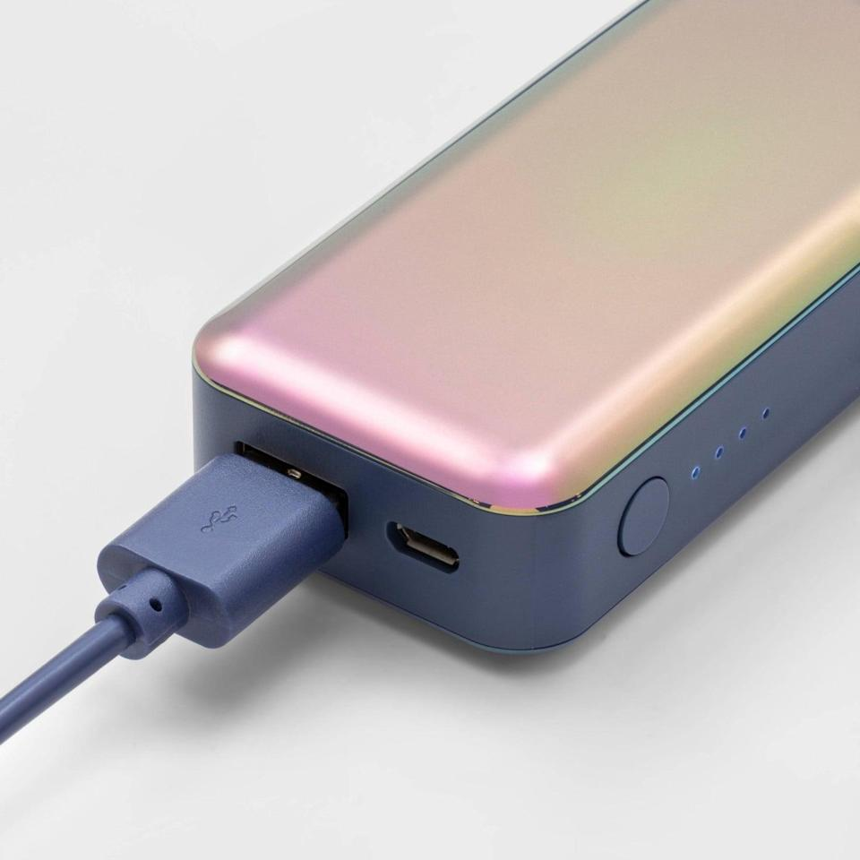 <p>Keep their devices charged wherever they are going with this stylish and useful <span>heyday 4000mAh Power Bank</span> ($20). It comes in a variety of colors inlcuding gold, rose gold, leaf-patterned green, and a coral. </p>