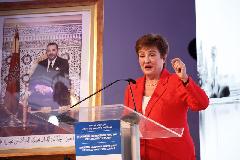 IMF's Georgieva says coronavirus to shave 0.1 percentage points from global growth