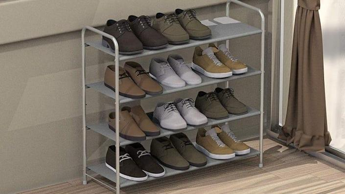 All your shoes in one spot.