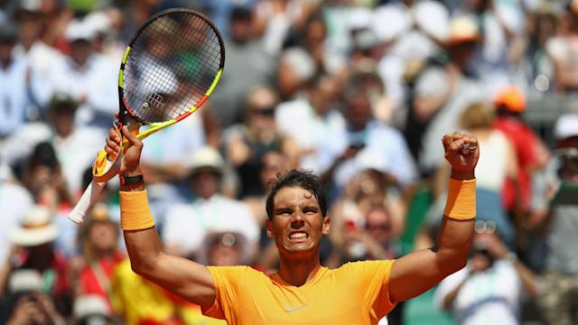 An 11th Monte Carlo title is in sight for Rafael Nadal, who looked in extremely ominous form against Dominic Thiem.
