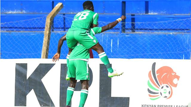 The Green Army now have 21 points after beating their visitors in Kisumu during a midweek league match
