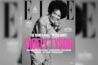 <p>The 92-year-old made headlines as <em>Elle</em>'s cover girl for its November 2017 issue. (Photo: Elle Magazine) </p>