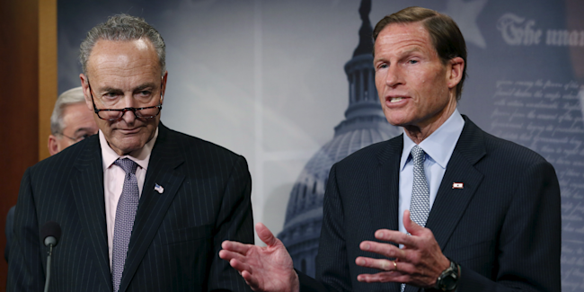 Chuck Schumer and Richard Blumenthal