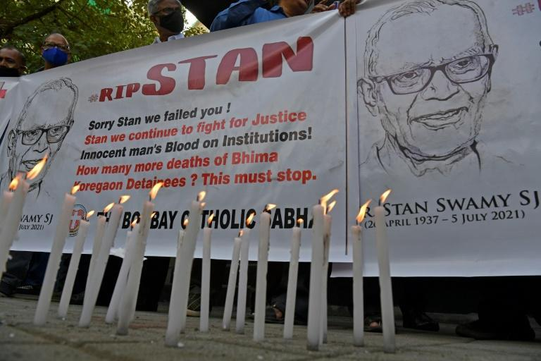 Indian rights activist and Jesuit priest Father Stan Swamy died Monday after nine months in jail without trial under anti-terror laws
