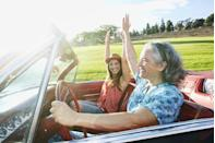 <p>So there are still a lot of places you can't go, but you <em>can </em>surprise mom by taking a spin in a car she's always dreamed of driving. </p>