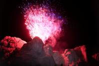 South Dakota's U.S. Independence Day Mount Rushmore fireworks celebrations seen at Mt. Rushmore in Keystone